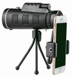 Μονόκυαλο 40X60 αδιάβροχο με πυξίδα holder τηλεφώνου και τρίποδο - TKD Χ40 OEM