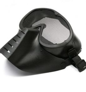Paintball Softball μάσκα space trooper, ανθεκτική αδιάβροχη με ιμάντα και σίτα - SPT77 OEM