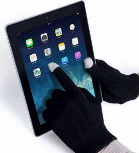 Μάλλινα γάντια κατάλληλα για  όλες τις οθόνες αφής - Touch Screen Winter Gloves  - GKV144 OEM
