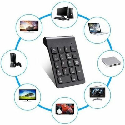 2.4GHz Wireless Mini Numpad- Ασύρματο αριθμητικό Keypad πληκτρολόγιο  - ΚΒ10084 OEM