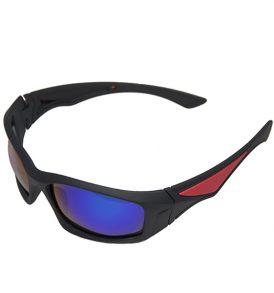 Σπορ γυαλιά απορροφητικά κατάλληλα για μότο χιόνι ποδήλατο με εξωτερικό μπλε καθρεπτίζων φακό - YJ92 OEM