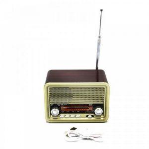 Επαναφορτιζόμενο ασύρματο ηχείο Ραδιόφωνο υποδοχή κάρτας - NNS NS-1537BT