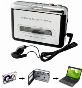 USB μετατροπέας των παλιών κασετών ήχου σε ψηφιακό φορμάτ MP3 - SUCC580005 OEM