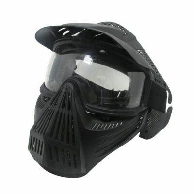 Paintball μάσκα full face protective, ανθεκτική αδιάβροχη με ιμάντα και σίτα Military Tactics - ML26 OEM