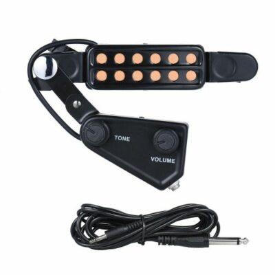 Κάψα μαγνήτης μικρόφωνο για ακουστική κιθάρα και σύνδεση της σε ενισχυτή -  GM12 OEM