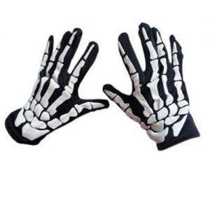 Γάντια  με σχέδιο σκελετού χεριού κατάλληλα για ποδήλατο MTB αθλητισμό κλπ SKG3000 - OEM