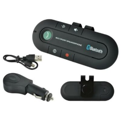 Bluetooth V3.0 συσκευή ανοιχτής συνομιλίας αυτοκινήτου με ηχείο handsfree Car kit - E01 OEM