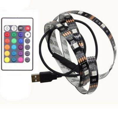 3m αυτοκόλλητη RGB LED ταινία με Τηλεχειριστήριο για ατμοσφαιρική τηλεόραση  - TVL300 OEM