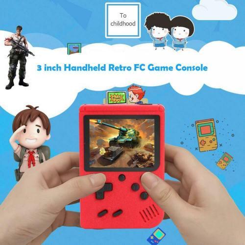 Ηλεκτρονικό παιχνίδι χειρός και κονσόλα συνδεόμενη με TV με 400 ενσωματωμένα ρετρό games - GB400 OEM