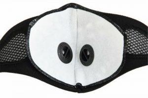 Neoprene Σπορ μάσκα για ποδήλατο / σκι / μοτο, με 2 βαλβίδες φίλτρου αέρα   - W05AWE OEM
