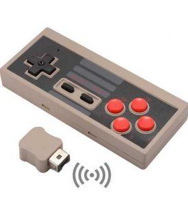 Ασύρματο Χειριστήριο Gamepad Joystick για παιχνιδομηχανή Nintendo mini NES - WTDJST02  OEM