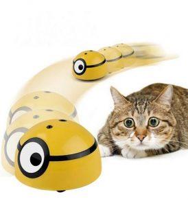 Pet Intelligent Escaping παιχνίδι για γάτες και σκύλους με αισθητήρα κίνησης και τελεκοντρολ - MIN0326 OEM