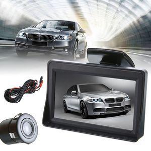 Σετ IR κάμερα παρκαρίσματος και Οθόνη 4.3'' Οπισθοπορείας Αυτοκινήτου - INFCM43 OEM