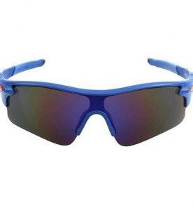 Ανθεκτικά γυαλιά UV400 ποδηλασίας μοτό με μπλε σκελετο και γκρι φακο  - NV02 OEM
