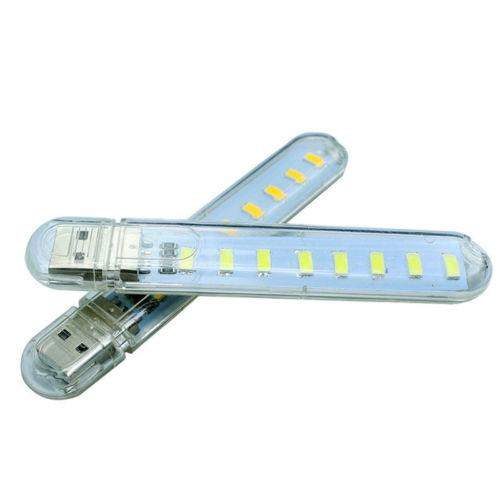 Πολύ ισχυρό USB Φωτάκι με 8 LED για σύνδεση στο USB οποιασδήποτε συσκευής - 8YHT OEM