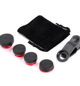 Φακός 5 σε1 για Κάμερα Kινητών, FishEye, Wide, Macro , Tele, Polarize -  MLX5  OEM