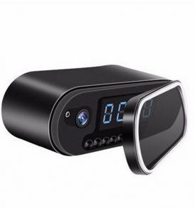 Ρολόι ξυπνητήρι κρυφή κάμερα Spy camera WiFi 1080P υποδοχή SD σύνδεση με κινητό - SMZ10 OEM