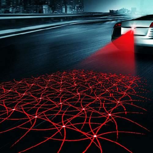 Λέιζερ ασφαλούς οπισθοπορείας αυτοκινήτου / Μοτο με σχήματα , κατάλληλο και για ομίχλη - AH0992 OEM