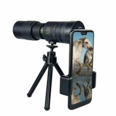 Super Μονόκυαλο 10-300X40mm αδιάβροχο με holder τηλεφώνου και τρίποδο - ZM300  OEM