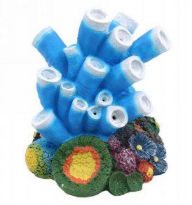 Αερόπετρα ενυδρείου απο ρητίνη χρωματιστό κοράλλι με εφέ φυσαλίδων - CRL140  OEM
