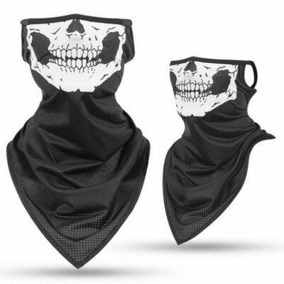 Μάσκα και Μπαλακλάβα μαζί σε μακρύ μέγεθος με κρανίο σκελετός Skeleton Ghost Skull Face Large - MB44 OEM
