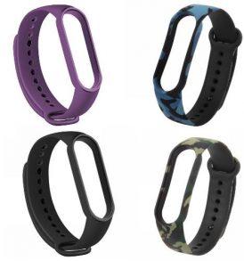 Λουρί συμβατό με Xiaomi Mi Band 5 / Smart Wrist Watch Strap - XIBLC 05 OEM