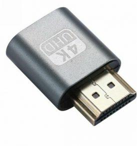 HDMI DDC EDID Dummy Plug Virtual Display Emulator for mining - MCP4K OEM