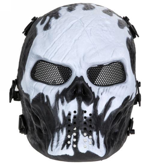 Paintball μάσκα full face protective, ανθεκτική αδιάβροχη με ιμάντα και σίτα  Wildfire - GSK30 OEM