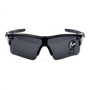 Ανθεκτικά σπορ γυαλιά UV400 ποδηλασίας μοτό με μαύρο σκελετο και σκούρο γκρι φακό  - NV33 OEM