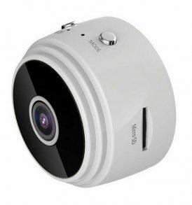 Διακριτική1080p ασύρματη WiFi Camera ,υπέρυθρες, Spy camera,360° , SD card slot - W22 OEM