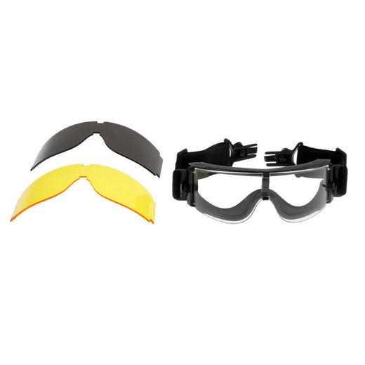 3 σε 1 Goggles σπορ γυαλιά μοτοσυκλέτας,ποδηλασίας MTB,σκι,απορροφητικά UV - X500